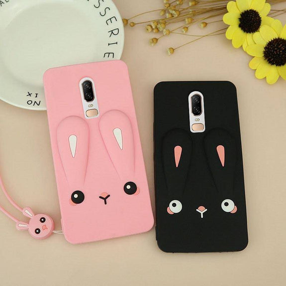 timeless design 2737c ee8f2 Cute 3D Cartoon Soft TPU Silicone Case For Oneplus 6 – Bright & Sparkly
