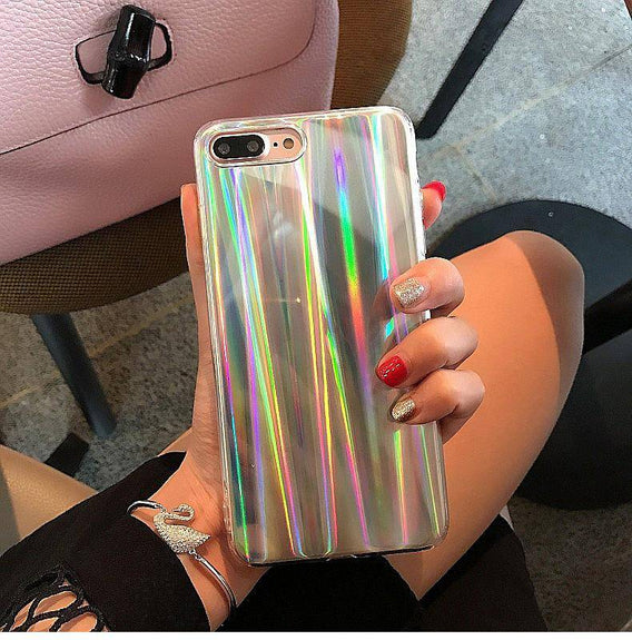 Luxury Laser Case For iphone 8 / 8 Plus