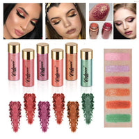 6 Colors Pro Pigment Glitter Powder Eye Shadow - FREE SHIPPING!