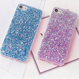 Luxury Soft Silicone Glitter Case for iPhone 8 / 8 Plus / X