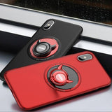 Luxury Ultra Thin 360 Rotation Holder Case for iPhone 8 / 8 Plus / X
