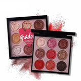 9 Colors Mutual Affinity Eye Shadow Palette - FREE SHIPPING!