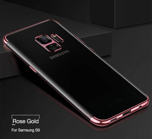 e2650f1d7 High-Quality Plating Phone Case For Samsung Galaxy S9 S9+ – Bright ...