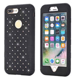 3-in-1 Diamond Shockproof Armor for iPhone 8 / 8 Plus
