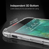 Clear Shockproof Soft Silicone iPhone Case