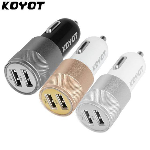 Strong Dual USB Car Charger For Smartphones