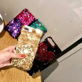 Luxury Glitter Mermaid Scales Case For iPhone