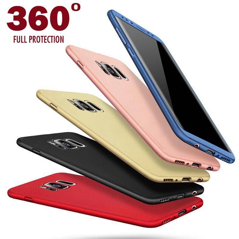 official photos 54753 4a02b Soft 360 Degree Luxury Phone Case For Samsung Galaxy S8/S8+