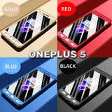 Luxury 360 Full Cover Shockproof Case For Oneplus 5/5T