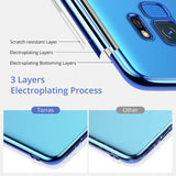 Luxury Electroplating Shockproof Case Samsung S9/S9+