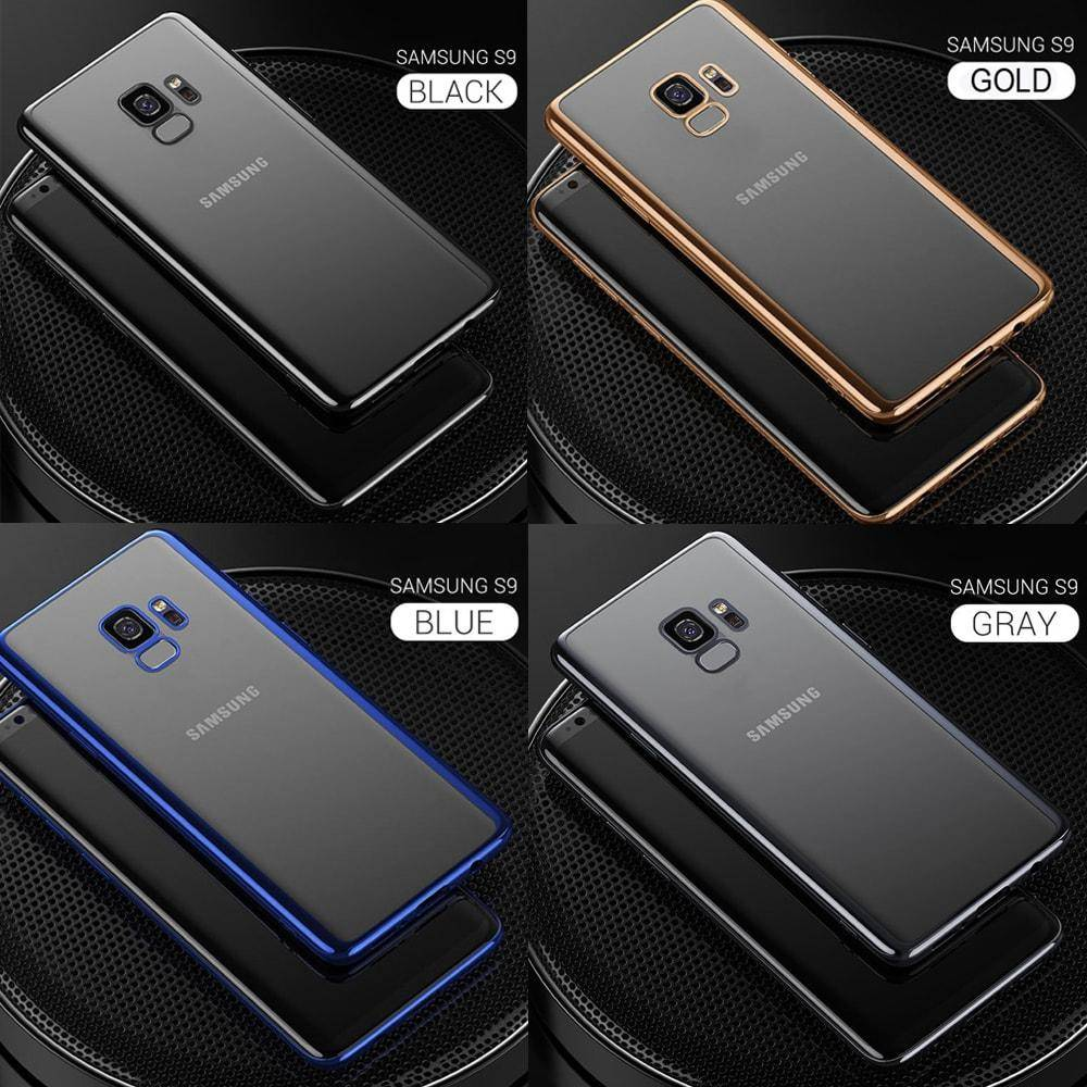premium selection 80ba1 45477 Luxury Electroplating Shockproof Case Samsung S9/S9+