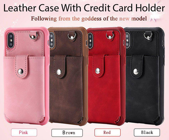 Mirror Case With Credit Card Holder