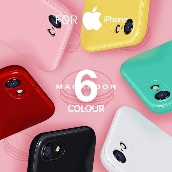 360 Degree Candy Color Case For iPhone