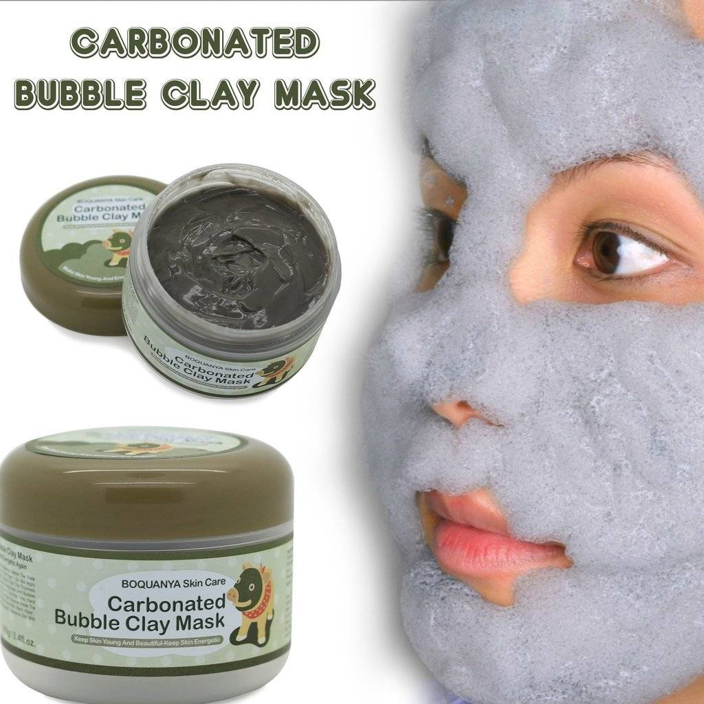 Image result for carbonated bubble mask