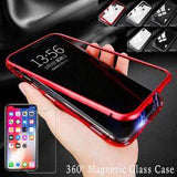 Magnetic Adsorption Metal Bumper Case For Oneplus 6