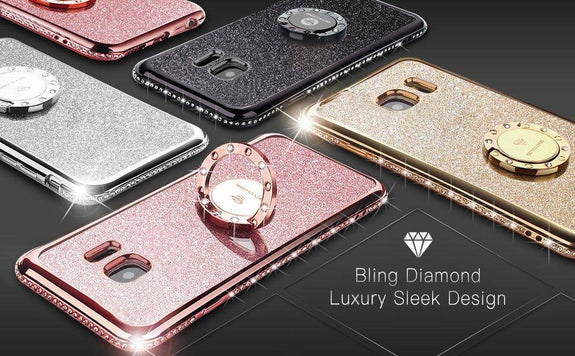 Discount Luxury Bling Glitter Case For Samsung Galaxy S6