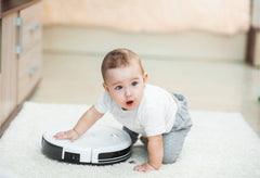 Robot Vacuum and baby