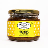 Nimbu Ajwain Pickle, 300gm