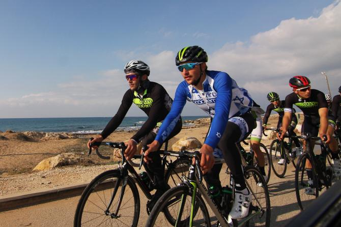 Cycling Academy train in Israel - Gallery