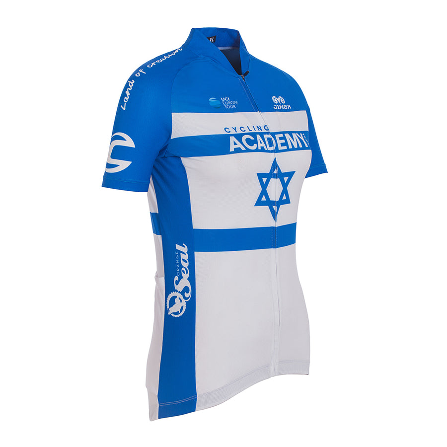 Israel Champion Official Cycling Jersey for Women (1391503114293)