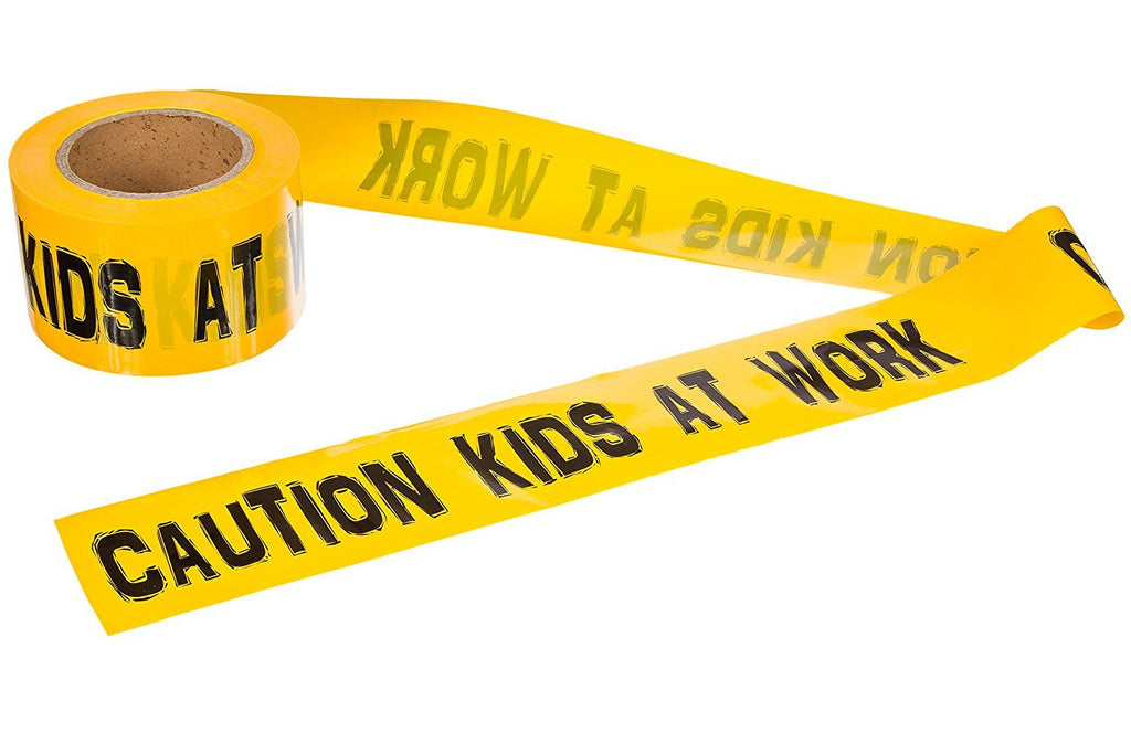 300 Foot Roll of Caution Tape (Barricade Tape for Kids and Adults) - TorxGear Kids