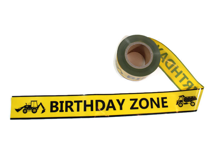 Birthday Zone Caution Tape