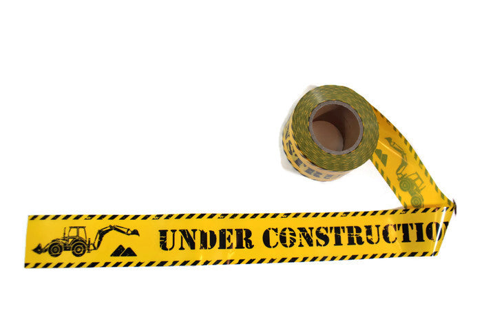 Under Construction Caution Tape