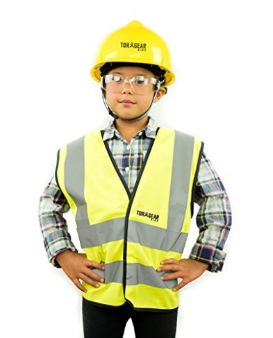 Child's hard hat (kid's construction helmet) for work or play! - TorxGear Kids