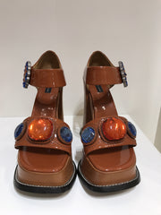 Marc Jacobs Brown Platforms<br>Size 37.5