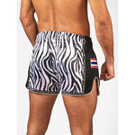 Bangkok zebra thai shorts