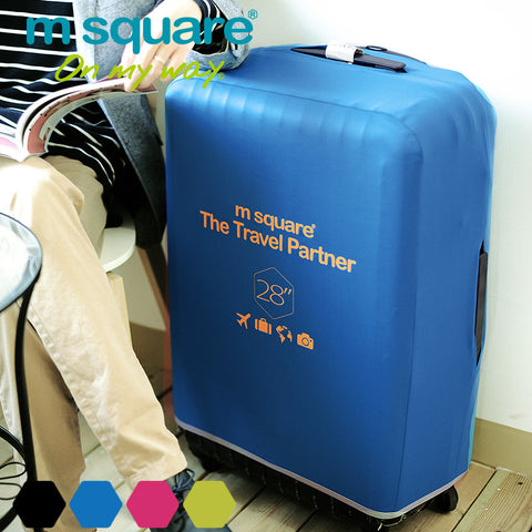 M Square Washable Suitcase Travel Luggage Protector