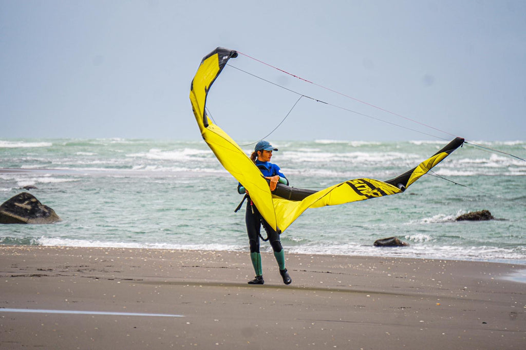 Meet Alina, Ozone NZ's new kiteboarding instructor