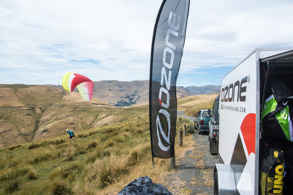 Christchurch Paragliding Demo