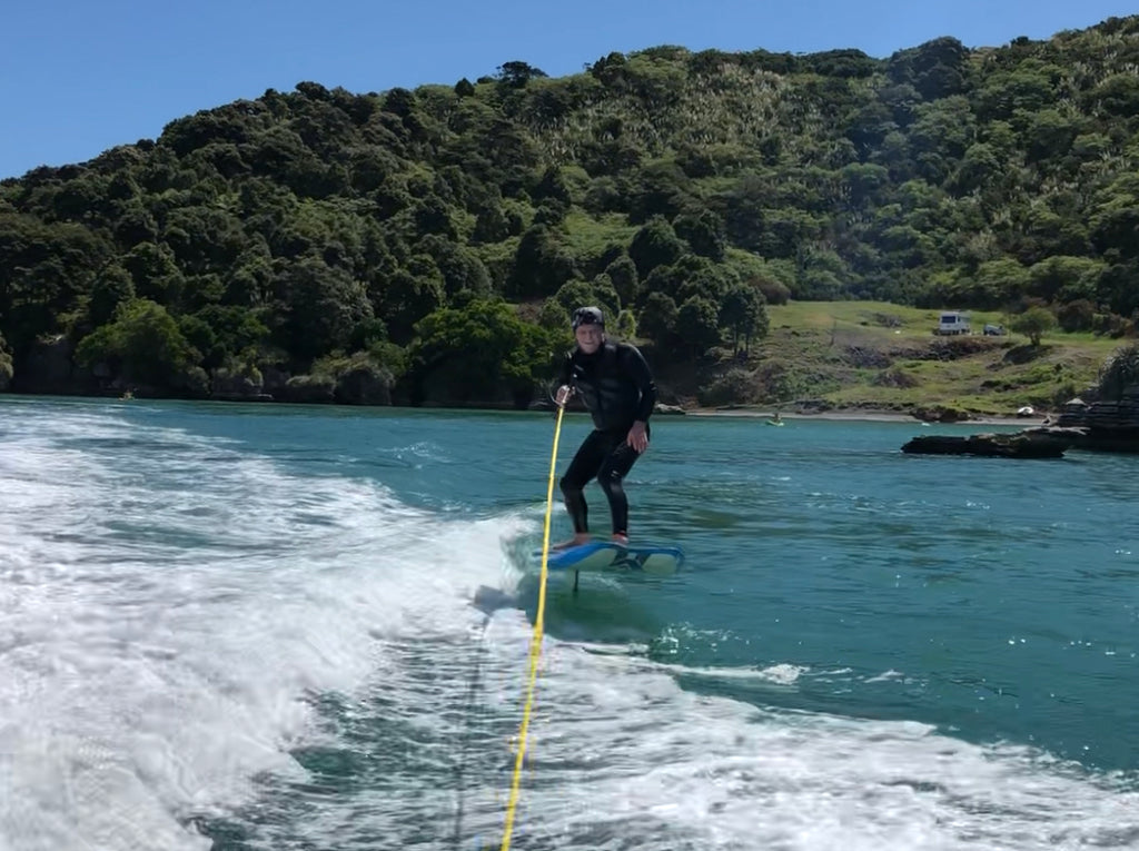 David's take on learning to Hydrofoil with our school