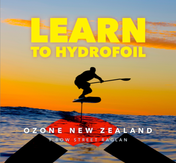 Learn to hydrofoil in Raglan!