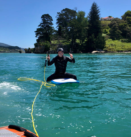 hydrofoil lessons Ozone New Zealand