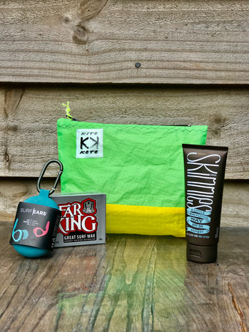 Pocket Rocket Zip Pouch Kite Kete Gift Bag