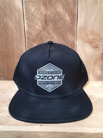 Ozone Trucker Caps - Black