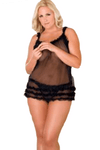 Lingerie Set Dress Women Nightwear Underwear Sleepwear G-string Plus Babydoll @ Daloah.com