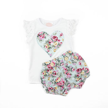 Ariana Short Sleeve Top & Shorts Set (Sizes 0000-5 = 9 Sets)