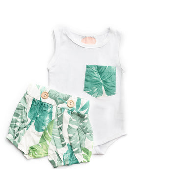 Ethan Short Sleeve Top & Shorts Set (Sizes 0000-3 = 7 Sets)