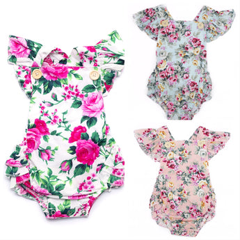 Mixed Romper Pack (Sizes 0000-2 = 6 pieces)