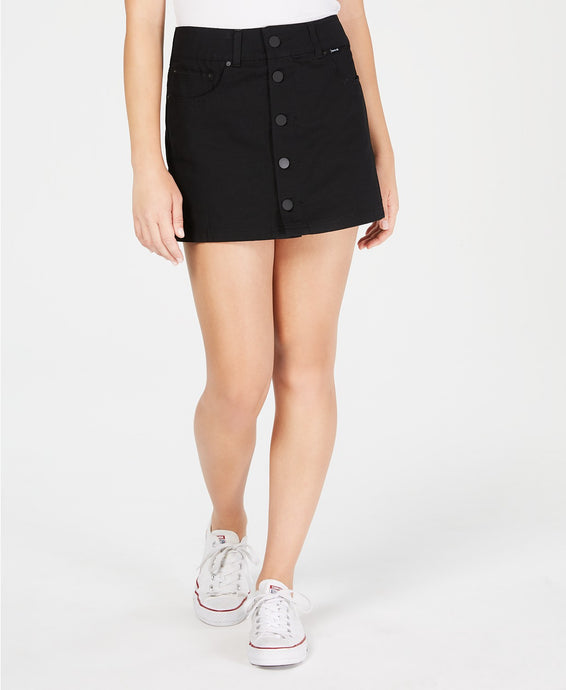 Hurley Juniors' Wilson Cotton Mini Skirt