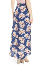 Mimi Chica Floral Print Maxi Skirt.