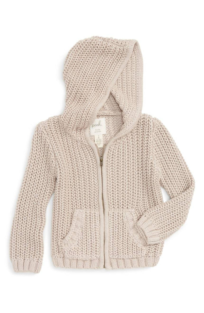 Peek Baby Zip Up Hooded Sweater