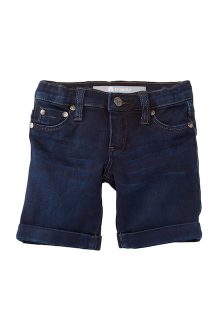 Tractor Jeans Bermuda Short (Little Girls)