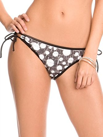Guess Frill Me Tunnel Side Womens Bikini Bottom