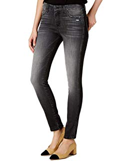 Flying Monkey Distress Skinny Ankle Jeans