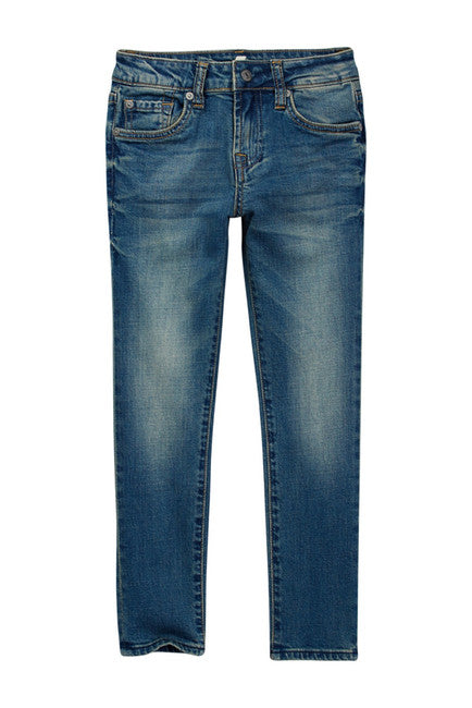 7 For All Mankind Slimmy Slim Straight 5-Pocket Jean (Little Girls)