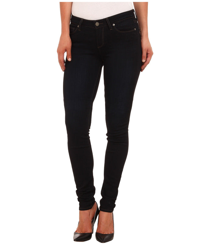 PAIGE LEGGY EXTRA LONG ULTRA SKINNY- BLACK SHADOW